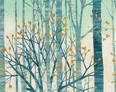 Sound of the Woods - Mist Metallic - Robert Kaufman - Fat Quarter