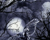 Wicked Eve Ravens & Full Moon - Timeless Treasures - 1 yard - More Available - BTY