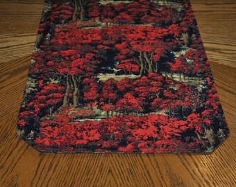 Autumn Forest - Reversible Table Runner