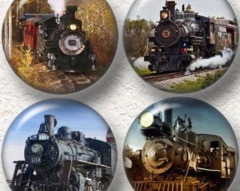 """Vintage Trains Coaster Set of  4    3.5 """" Buy 3 SETS Get 1 SET of 4 Free 013C"""