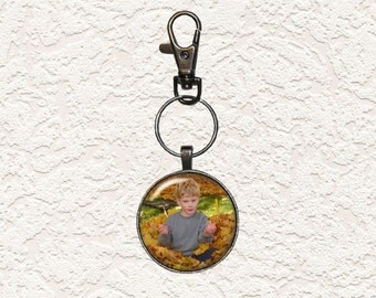 Key Chain Personalized Photo Key Chain Gunmetal Buy 3 Get 1 Free Of Equal Or Lesser Value 001PKC