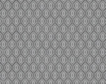 You & Me Aztec Coin Gray from Adorn It - Full or Half Yard Gray Southwest Motif Blender