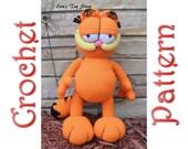 Garfield a Crochet Pattern by Erin Scull