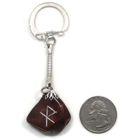 Bind Rune Keychain Of Safe Travel Choose 1 Of 2 By