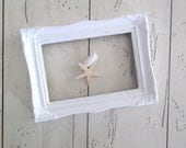 Vintage Picture Frame White Gallery Frame Wedding Photo Prop Farmhouse Decor Nursery Home & Living Picture Frames