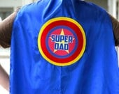 Free mask sale - Personalized Custom Dad Cape - Ships Fast - ADULT SUPERHERO CAPE - Customized Wording - Lots of Colors - Fathers Day Ready