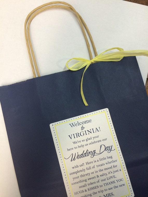 Hotel Gift Bags For Wedding Guests Wording : Wedding Welcome Bag Hotel Guest Bag Destination Wedding Bags