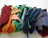 SPECIAL LISTING for CHOOSEYGAL2 handmade felt scrap baggies,