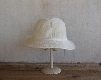 Vintage Child's Sunhat, White