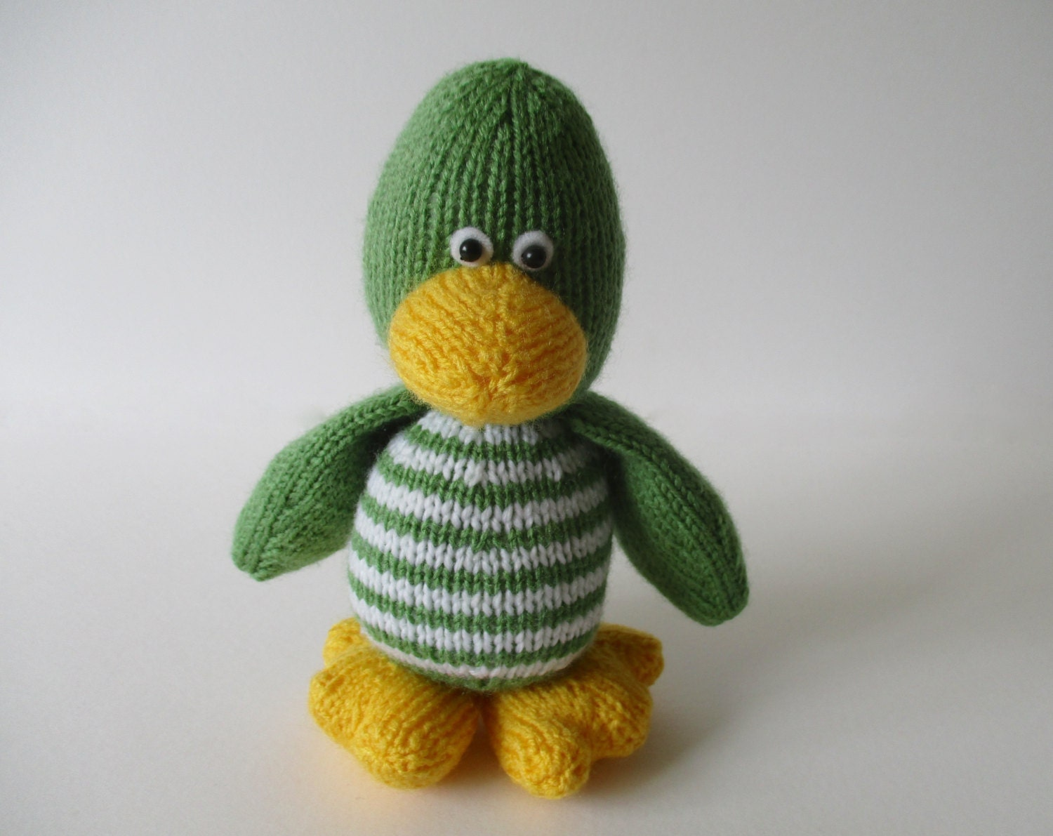 Knitting Pattern Duck Toy : Quacky duck toy knitting pattern