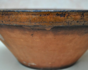 Vintage French Tian or Confit Bowl