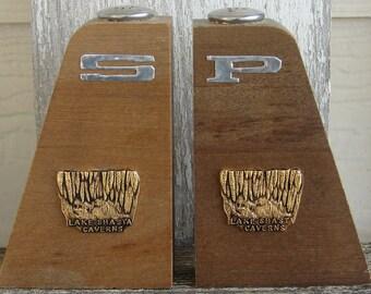 Lake Shasta Souvenir salt and pepper shaker set