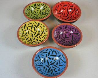 Ceramic Bowl, Small Ceramic Bowls, Small Ceramic Kitchen Prep Bowls