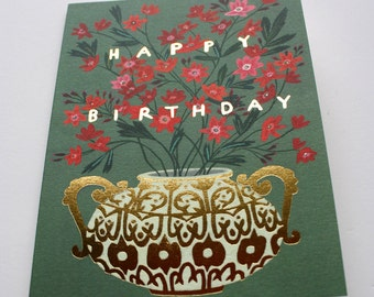 Happy Birthday Foil Card