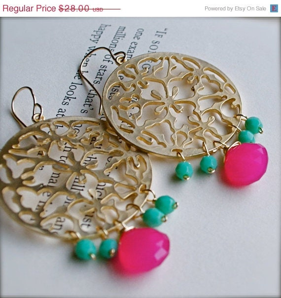 Memorial Day Sale Chandelier Earrings With By