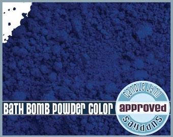 Bath Bomb BLUE Powder Color - 1/2 oz