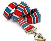 Custom Dog Leash - London Calling