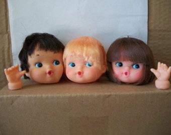 Westrim Baby Doll Head Hands Kit: Boy