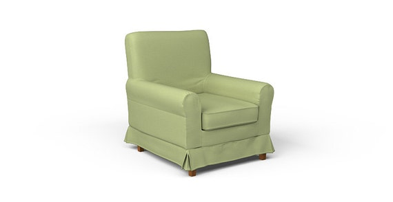 ikea ektorp jennylund armchair slipcover only in kino green. Black Bedroom Furniture Sets. Home Design Ideas