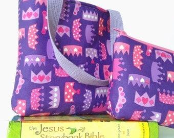 kid bible combo set -- purple princess