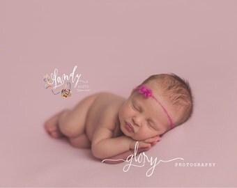 Newborn tie back, mohair tie back, Photo prop, newborn photo prop, bow tie back, baby girl, infant girl, newborn girl, tieback, baby girl