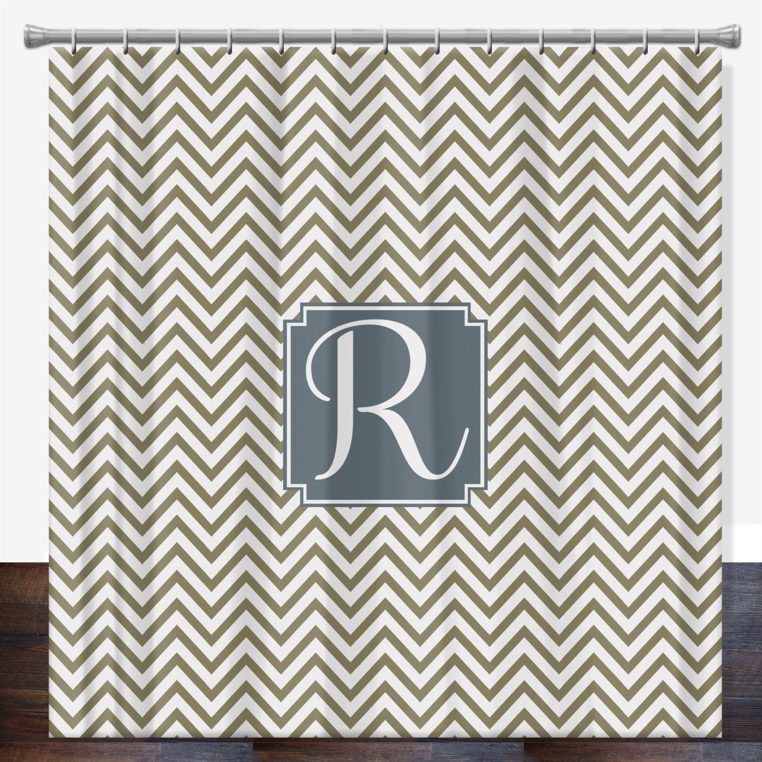 Personalized Shower Curtain Monogrammed By Limerikeedesigns