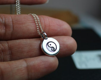 Yin Yang Necklace, Yin Yang Jewelry, Spiritual Meditation Necklace, Yoga Necklace, Yoga Jewelry, Ask Questions