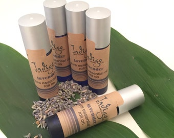 Lavender pure essential oil roll-on