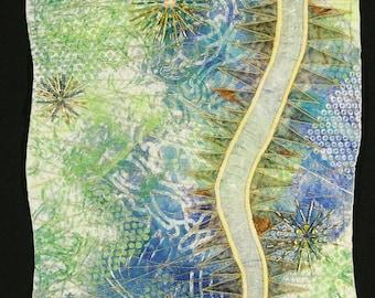 Handmade Art Quilt - Hidden Sparkle