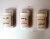 Uncomplicatedly awesome organic deodorant. handmade. aluminum free. natural.
