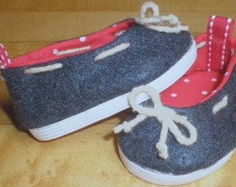 NAVY DECK SHOE 18 inch doll clothes