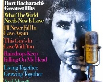 "ON SALE Burt Bacharach Vinyl Record Album 1970s Easy Listening Singer Songwriter Lyricist Romantic LP ""Greatest Hits""(1974 A&M)"