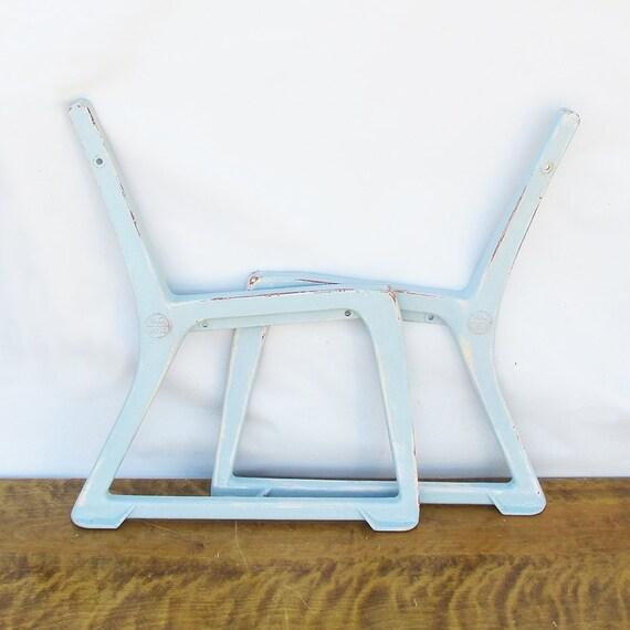 Vintage Cast Aluminum Par Aide Park Bench Ends Ready To Make
