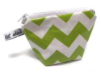 Essential Oil Case with elastic holders - Lime Green