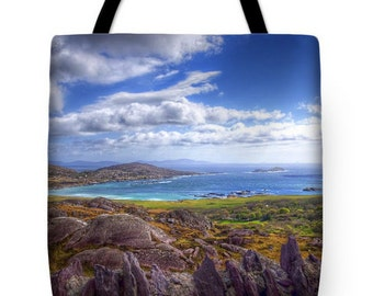 "Ring of Kerry ""Lady's View"" Ireland Tote Bag"