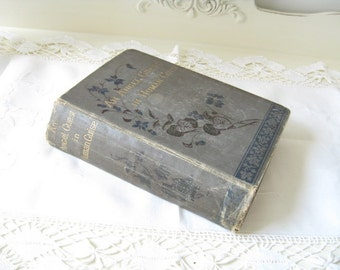 ON SALE Antique Rare Children's Book Angel Guest in Human Guise Ruth Lamb English HC 1898 Collectible