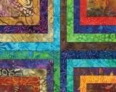 "ON SALE Tiger Lily Batiks  Moda Quilt Fabric Moda Charm Pack 42 squares 5"" x 5"""