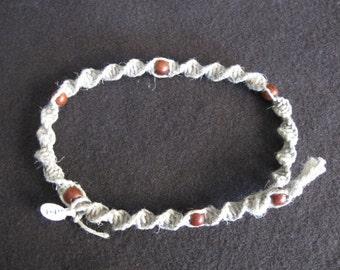 Macrame beaded choker/necklace