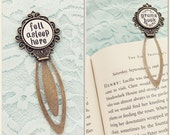Personalized book mark- hand stamped