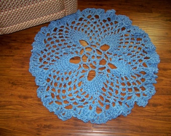 Floor Doily....Time to Welcome Friends