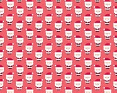 Santa Express Santa Clause Red by Doodlebug Designs for Riley Blake, 1/2 yard
