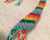 Rainbow Handmade Friendship Bracelet