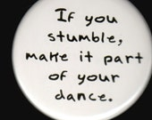 Stumble And Dance Button