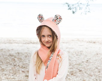 Wild Things Hooded Scarf + Tails - PDF PATTERN -  Sizes Infant to Adult