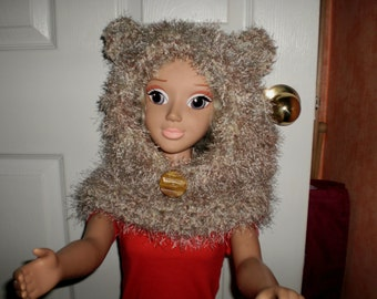 Toddler Furry Bear Cowl
