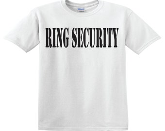 Ring Security - Ring Bearer shirt