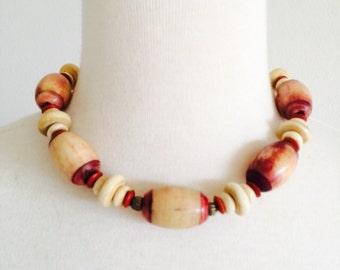 Frida Kahlo style necklace