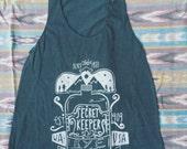 secret keepers rye twin peaks themed fan art tee