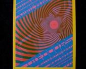 DOORS Concert Postcard FD 57 62 Orig Psychedelic Concert Flier San Francisco 1967 Nude Woman
