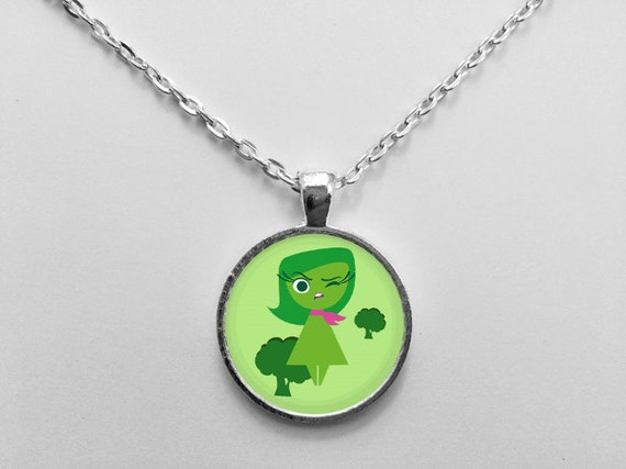 Disgust Emotion from Inside Out Necklace OR Keychain